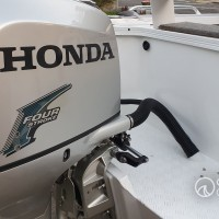 Customer supplied Honda BF225 and fitted by Ocean Concepts to a Quintrex Trident 690.