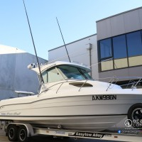 Oceanblue Outriggers with 15FT Carbon Fibre Poles - Supplied & Fitted to our customers Cruisecraft EX685HT