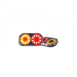 LED Autolamps - Round Boat Trailer Lights, Submersible