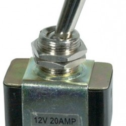 Standard Toggle Switch - On/Off 20A SPST