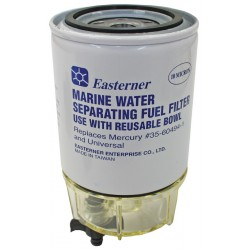 Easterner Fuel Filter With Clear Bowl - Mercury 35-60494-1, Universal
