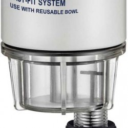 Easterner Fuel Filter - Easy-Fit Filter Element with Clear Bowl
