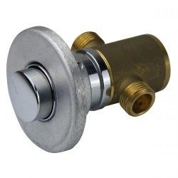 Tap Push Button - Alloy, Weld In, Timed 20 Sec.